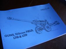 105mm Field Gun.L118 and L119.Precis.